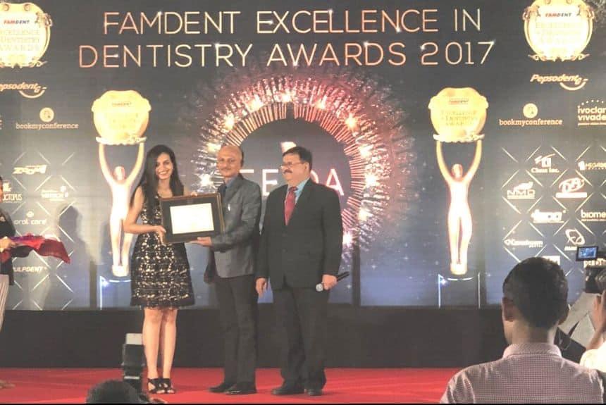 awards won by cosmecare dentistry dental clinic in chembur , dentist in chembur
